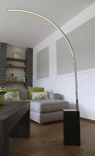 Design LED Piantana Lampada da pavimento ad Arco con Piedi di pietra