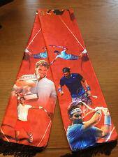 Rafael Nadal RAFA Grand Slam Wrap Muffler Costume Shawl Quasten Schal