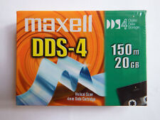 Maxell DDS4/DDS-4 DAT Data Tape/Cartridge 20/40GB HS-4/150S 4mm NEW