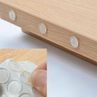 90x BUMPERS CLEAR SILICONE STICK ON FEET PADS FOR GLASS CERAMIC WOOD PROTECTORS