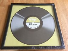 "12"" Vinyl Record Album Frame backing Wall hanging display LP Brand New Black"