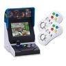 NEOGEO Mini Multi Player Bundle - Console with 40 games + 2 x White Controllers