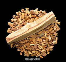 Palo Santo Bundle for Smudging Incense (1 XL Stick + Chips) Holy Wood Herb #PS01