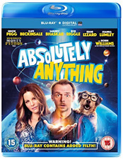 Absolutely Anything Blu-Ray SIMON PEGG * NEW & SEALED *