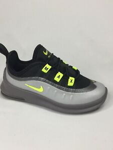 New Nike Air Max Axis Black/Volt/Grey Toddler Shoes AH5224-012 Size 9C