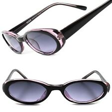 Purple Old Fashioned Vintage 60's Rockabilly Womens Small Cat Eye Sunglasses