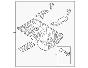 Genuine Ford Oil Pan FR3Z-6675-A