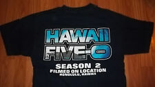 Very Cool TV Series Hawaii Five-O 2nd Season FILM CREW T-Shirt Medium