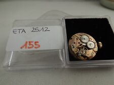 155 - Movimento lorenz eta 2512 con dial running  sold for parts repair