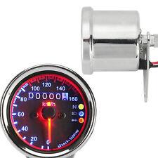 LED Speedometer Turn Signal Fit Harley Dyna Cafe Racer Cruiser Chopper Bobber