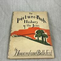 Vintage Jewish Childrens Book 1942 The Picture Book History of the Jews Judaica
