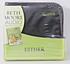 ESTHER: CDs by Beth Moore, (10 Audio CDs and PRINTABLE LISTENING GUIDE) NEW