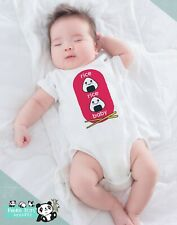 Funny Asian Baby Onesies - Rice Ricey Baby - Baby Shower Gift Pregnancy