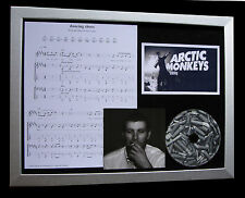 ARCTIC MONKEYS Dancing Shoes CD QUALITY MUSIC FRAMED DISPLAY+EXPRESS GLOBAL SHIP