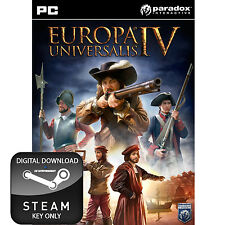 EUROPA UNIVERSALIS IV 4 PC, MAC AND LINUX STEAM KEY