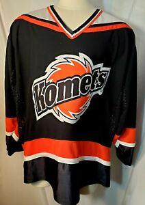 Fort Wayne Komets Black Jersey Large Lg
