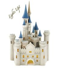 Lenox Disney Princess Cinderella's Castle Lighted Figurine Disney World Land New
