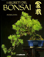 LIBRO-   I SEGRETI DEL BONSAI -PETER CHAN