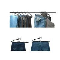 5PCS Portable Closet Organizer Magic Hurdle Hanger Rack for Pants Clothes Towels