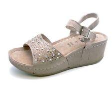 Calzado de mujer plataformas sin marca color principal beige