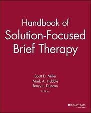 Handbook of Solution-Focused Brief Therapy (1991, Paperback)