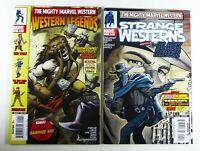 MARVEL WESTERNS: WESTERN LEGENDS + STRANGE WESTERNS BLACK RIDER #1 VF to VF/NM