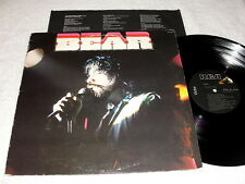 "Richard T. Bear ""Bear"" 1979 Blues Rock LP, Nice VG++!, Orig RCA, Self-Titled S/T"