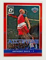 2016-17 Donruss Optic Anthony Davis All Stars RED Prizm Card SP #/99, Pelicans!