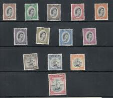 GRENADA # 171-183 VF-MNH/MLH QE11 ISSUES CAT VALUE $51+