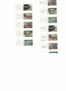 Canada, Kiosk stamps, Permanent rate, Sheet of 5 With MAJOR Errors, READ