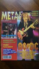 rivista METAL SHOCK 203/1995 AC/DC, Primus, Malmsteen, Morbid Angel, Kamelot