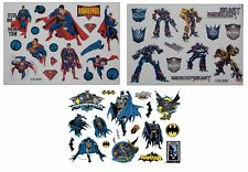 Tattoo Temporary Body Stickers - Superman + Transformers + Batman CG-053,054,058