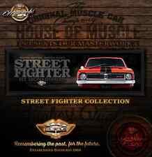 HOLDEN HT MONARO GTS -  STREET FIGHTER  -  HOUSE OF MUSCLE ACRYLIC ART PRINT
