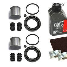 2x Kit de Réparation Étrier Frein + Piston devant 54 Mm Joints Avant
