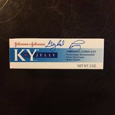 Gaylord Perry Signed Autographed KY Jelly Vaseline Spitball Giants PSA/DNA