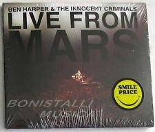 BEN HARPER & THE INNOCENT CRIMINALS - LIVE FROM MARS - Double CD Sigillato