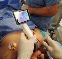 Video Laryngoscope HD Display, Battery, Disposable 5 Blade Kit Warranty FDA
