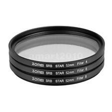 Zomei Optical Glass Star-effect 4/6/8Points 52mm Lens Filter for Camera