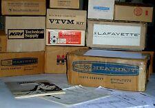 UNBUILT HEATHKIT IT-5230 CRT Tester & Rejuvenator Kit +Eico Knight Heath Surveys