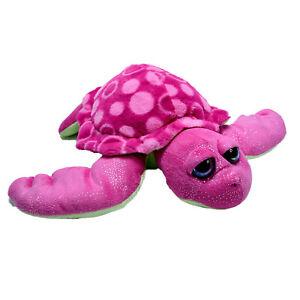 Wild Republic Sparkly Turtle Plush Soft Stuffed Animal Toy Washed 38cm 2015