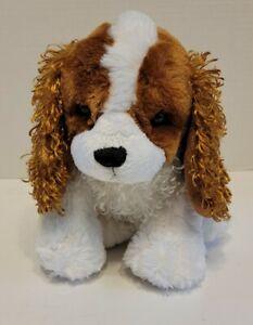 "Ganz King Charles Spaniel Dog 12"" Plush Realistic Stuffed Animal Toy - NO CODE"