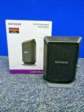 ☆ NETGEAR CM700-100NAS Cable Modem In Box w/ Power Supply