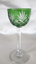 France Crystal & Cut Glass Objects Green