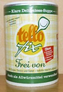 ( 1,19 Euro / pro100 g ) tellofix frei von Gemüsebrühe & Allwürzmittel 280 g
