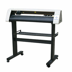 """28"""" Vinyl Cutting Plotter deluxe aluminum stand RS800C with Artcut2009 Software"""