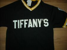 VTG 70S 80S MEDIUM TIFFANYS TIFFANY BASBALL LITTLE LEAGUE JERSEY SHIRT