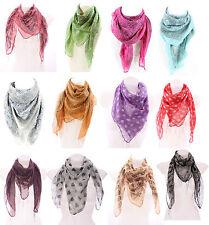 Unbranded 100% Cotton Floral Scarves & Shawls for Women