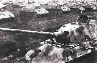 6x4 Gloss Photo ww45F4 World War 2 II WW2 War Photos Tiger Tank 1