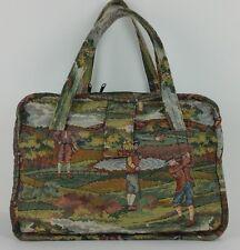 Tapestry Briefcase Tote Golf Theme Studio Sauvageau Ojai California