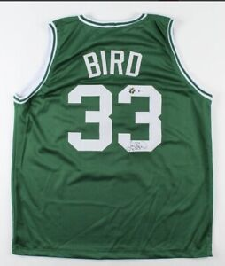 Larry Bird Signed Jersey (Beckett COA & Bird Hologram)